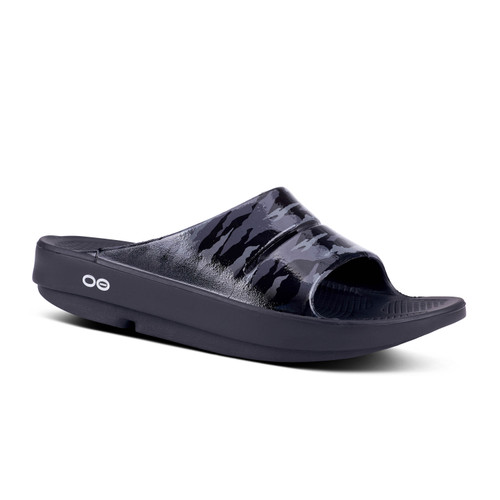 Oofos Ooahh Limited Black/Grey Camo