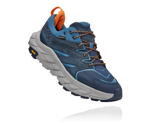 Hoka Men's Anacapa Low Gore-Tex Outer Space/Real Teal