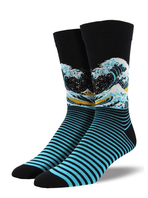 Socksmith The Wave Sock Black