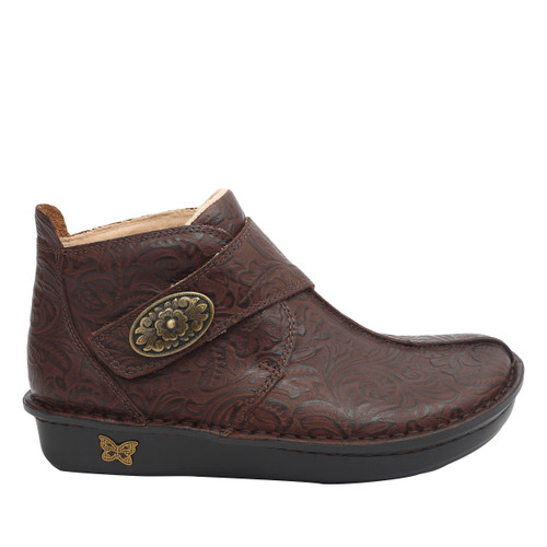 Alegria Caiti Boot Embossible Hickory