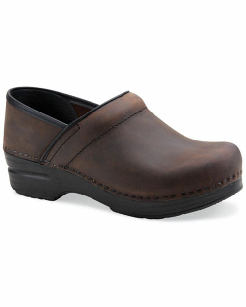 Dansko Professional Antique Brown/Black