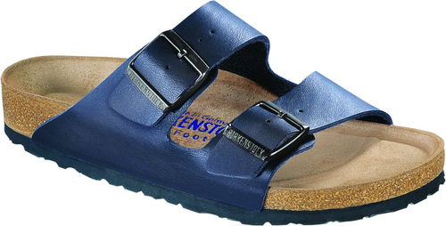 Birkenstock Arizona Soft Footbed - Blue Birko-Flor