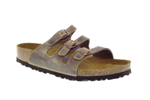 Birkenstock Florida Soft-Footbed - Tobacco Oiled Leather