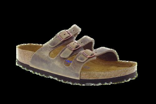 Birkenstock Florida Soft-Footbed - Tobacco Oiled Leather