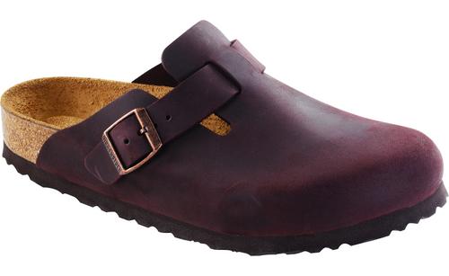 Birkenstock Boston Soft Footbed - Habana Oiled Leather