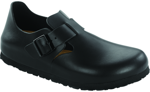 Birkenstock London Soft Footbed - Hunter Black Leather