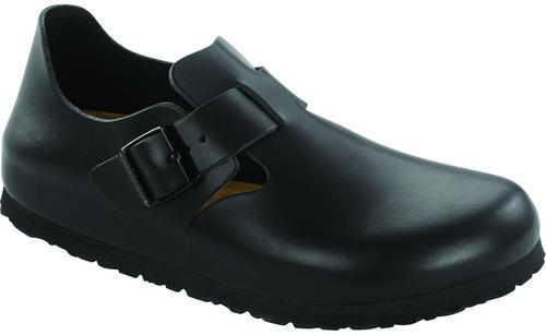 Birkenstock London Soft Footbed - Hunter Black Leather