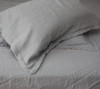 Linen pillow cases by Yummy Linen in Grey/Pink
