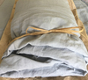 Australia Linen fitted sheet grey