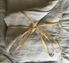 100% French Flax Linen Top Sheet Australia Grey - Queen  - Yummy Linen