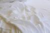 Australia Linen white linen flat sheet - Yummy Linen
