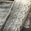 Luxury linen French Linen + Wide Cotton lace Luxury Linen.