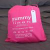 100% Organic CottonBedding- King Size- Duvet Set- Hot Pink