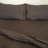Eco Organic Cotton Sheet Sets - Carob - King Size