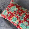 Vintage Sari Yoga Pillow - Lumbar Support Cushion Covers