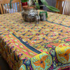 Retro Throw Blanket Abstract Lilly
