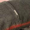 Boho Vintage Body Pillow Red Belly Black