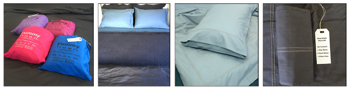 Eco Friendly Organic Cotton Sheet and Duvet Sets