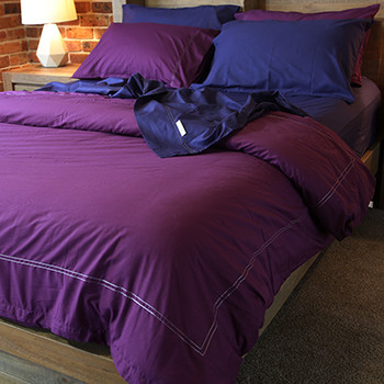 Organic-Cotton Double Bed Duvet Sets - Yummy Linen