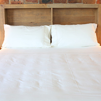 Organic Cotton KING SINGLE FITTED SHEET - Yummy LINEN