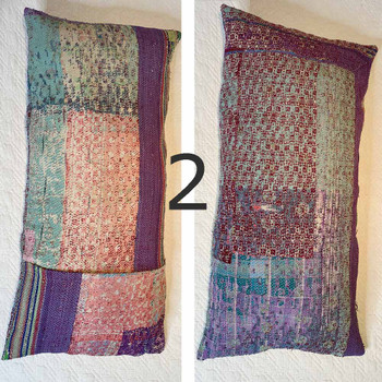 Vintage Sari Cushion Covers 50 x 100 cm