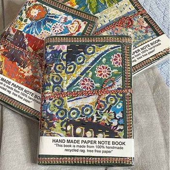 Kantha Note Books - Yummy Linen