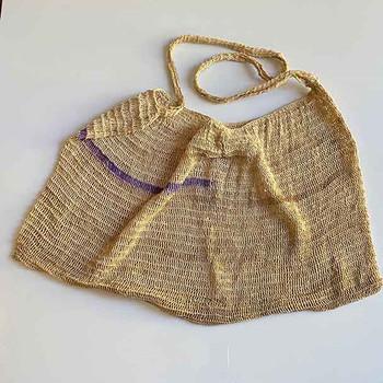 Telefomin Bilum - Baby Carrier Bag - Natural
