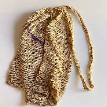 Telefomin Bilum - Baby Carrier Bag - Natural