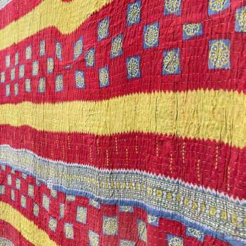 Picnic Blanket -Vintage Lightweight Beach Throw Blanket 4