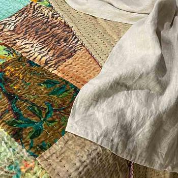 Velvet Patchwork Kantha 3