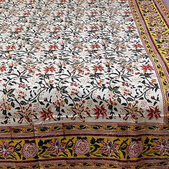 Yummy Linen Cotton Tablecloth Australia 230 x 153cm - Spring