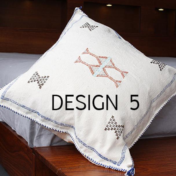 Moroccan Sabra Cactus Silk Cushion Cover 50 x50 cm