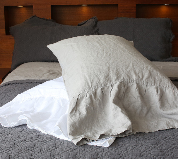 French Linen Mermaid Pillowcases