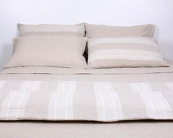 FRENCH LINEN QUILT SETS - Luxury Bedding Australia