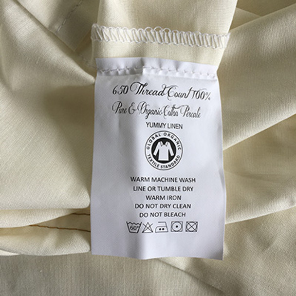 King Single Organic Cotton Sheets Australia