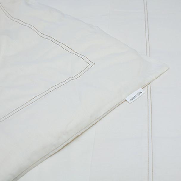 Organic Cotton Duvet/Quilt  Set -King Single - Yummy Linen