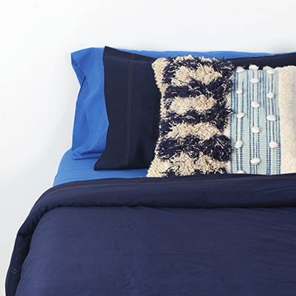 Organic Cotton Queen Bed Quilt Cover Set  - Yummy Linen