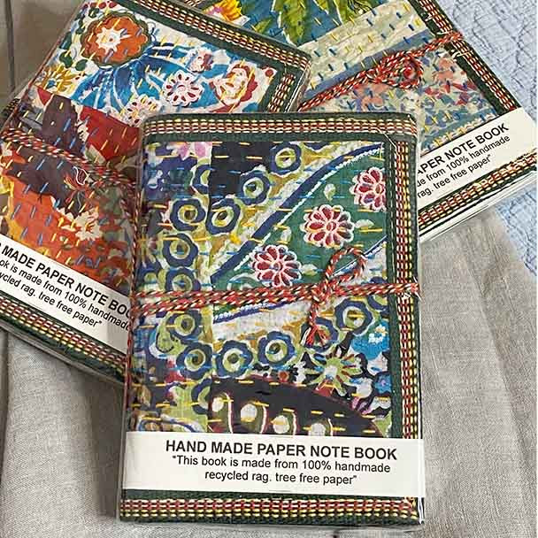 Kantha Note Books - Yummy Linen