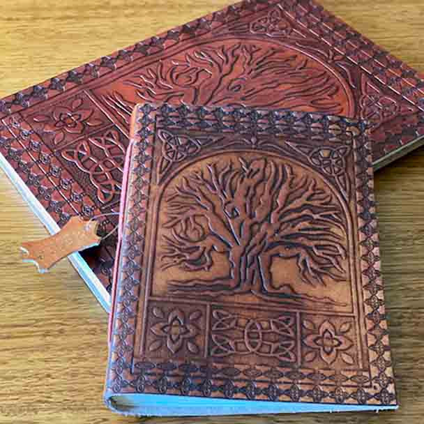 Tree of Life Leather Hand Crafted Journal