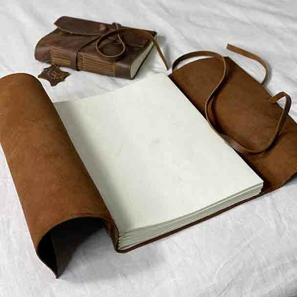 """Medieval Leather Soft Cover Journal - 5x7"""""""