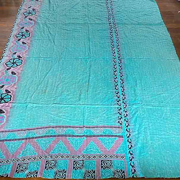 Picnic Blanket -Vintage Lightweight Beach Throw Blanket 1