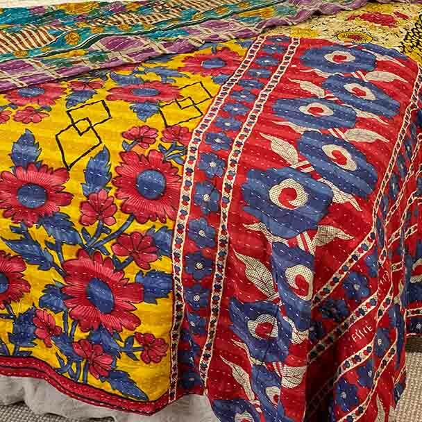 Picnic Blanket -Vintage Lightweight Beach Throw 2