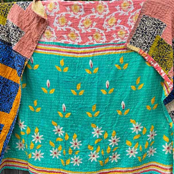 Picnic Blanket -Vintage Lightweight Beach Throw 3