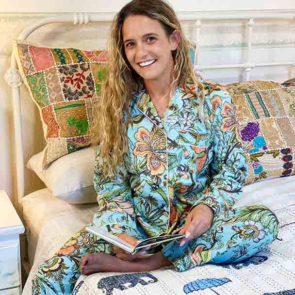 Cotton Women's Designer Sleepwear - Cotton Pyjamas