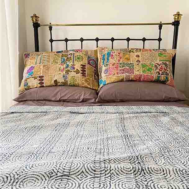 Bohemian Embroidered Pillow Covers