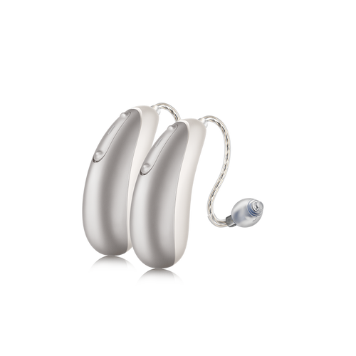 SHIFT is a life-enhancing hearing solution that's more than a clever amplifier. It works together with a smartphone app to give you more control over the way you hear.