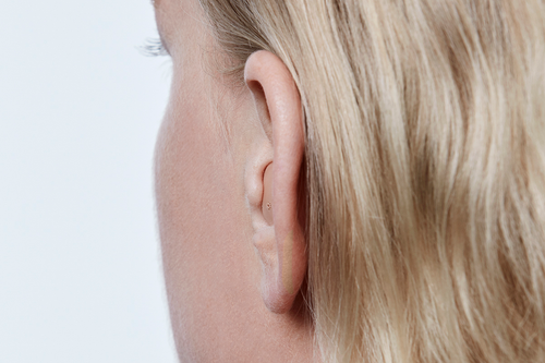 ITE hearing aids fill up more of the visible part of the ear and suit people with dexterity needs. They are fully featured and offer wireless connectivity