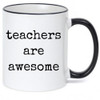 Teachers Are Awesome Cute Coffee Mug