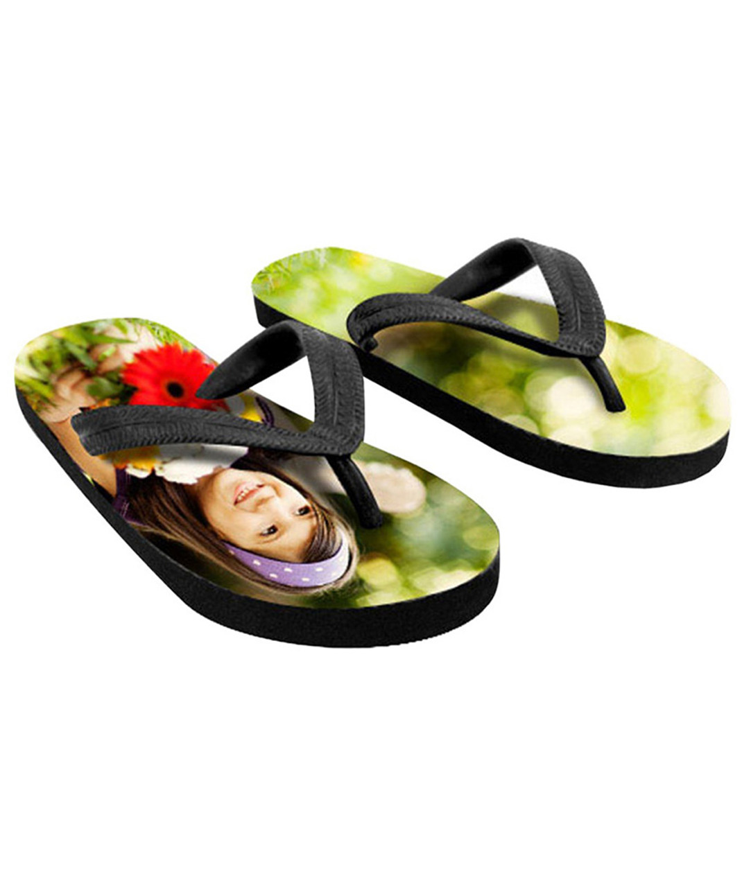 efac3f4295434 Flip Flops Custom Personalized w/Your Design,Picture,Logo & Text