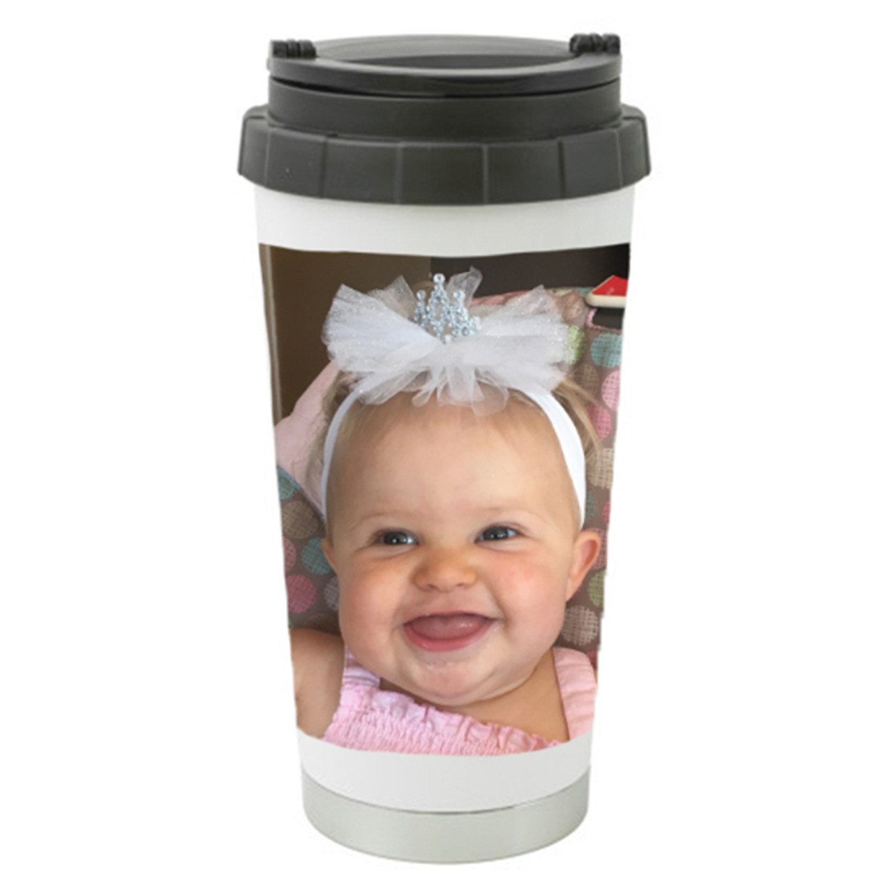a01c9d182fa Custom Personalized Travel Mugs / Add Your Own Picture / Photo & Name